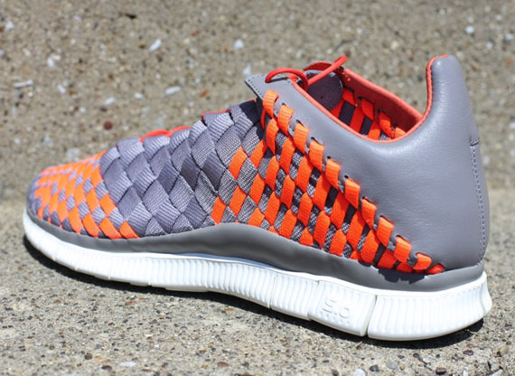 newest collection 9bb26 c326a Nike Free Inneva Woven – Sport Grey – Total Crimson