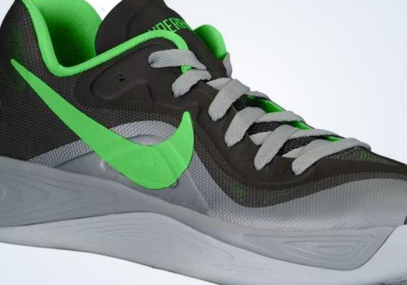 separation shoes 936bf 69b63 Nike Zoom Hyperfuse 2012 Low Night Stadium Stadium Grey 50%OFF