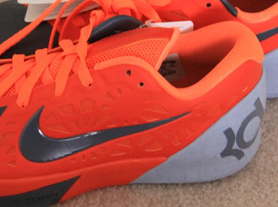 check out 2bf7b ce8a0 Nike KD Trey 5 - Team Orange - Grey - SneakerNews.com