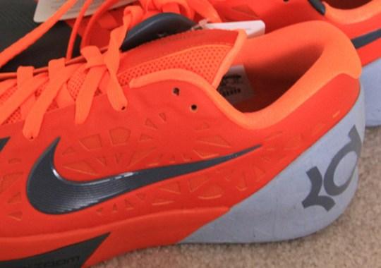 Nike KD Trey 5 – Team Orange – Grey