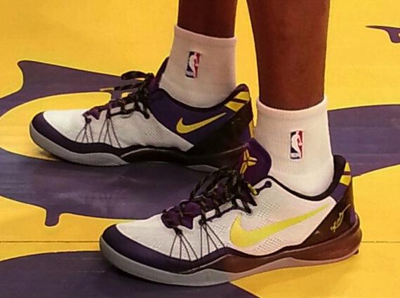 """size 40 1a63f f68a5 Nike Kobe 8 Elite """"Lakers Home"""""""