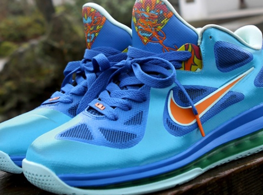 "Nike LeBron 9 Low ""China"" Customs by Kurtzastan"