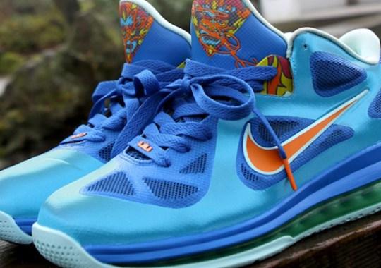 "Nike LeBron 9 Low ""China"" Customs by Kurtzastan"