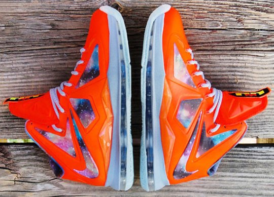 "Nike LeBron X ""Big Bang-Alike"" Customs by GourmetKickz"