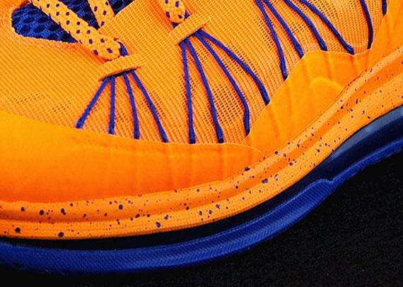 Nike LeBron X Low - Bright Citrus - Hyper Blue | Release Date