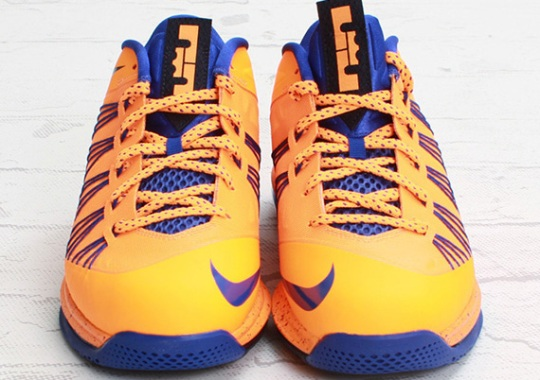 new styles 38585 fb303 Nike LeBron X Low – Bright Citrus – Hyper Blue   Arriving at Retailers