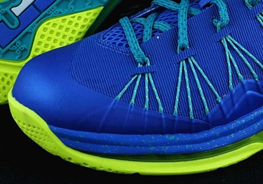 Nike LeBron X Low – Violet Force – Volt | Release Date