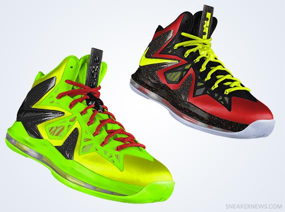 more photos 10a1b 4a51d Nike LeBron X P.S. Elite iD