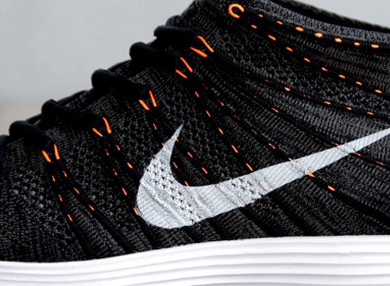 Nike Lunar Flyknit Chukka - Black - Total Orange - SneakerNews.com 91183451d