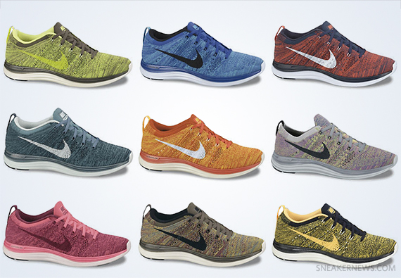 "... Nike Lunar Flyknit One+ ""Multi-Color"" – Upcoming Colorways nike flyknit  lunar 1 ..."