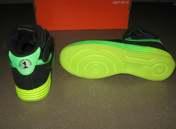 Nike Air Force 1 Mediados Veneno Verde xRB7qViUCk