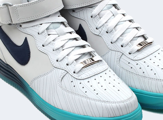 low priced 906ab 22034 outlet Nike Lunar Force 1 Mid Pure Platinum Squadron Blue