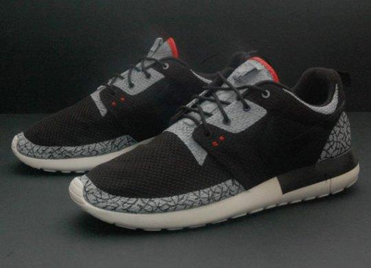 """Nike Roshe Run """"Air Jordan III"""" by JP Custom Kicks"""