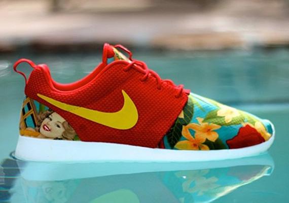 "Nike Roshe Run ""Island Girls"" Custom - SneakerNews.com"