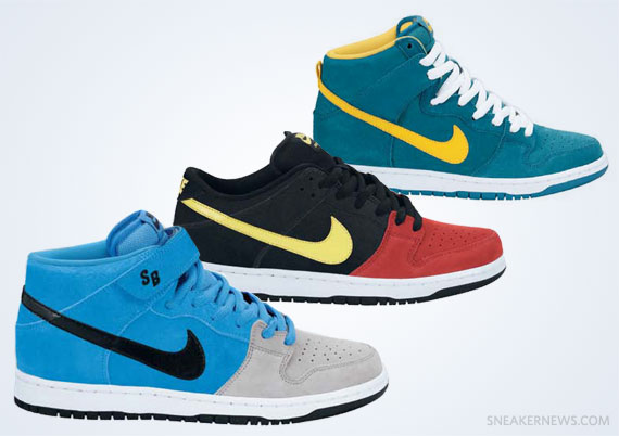 The Nike Sneaker Trends For Spring 2013