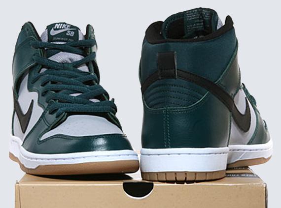 online store 67c7c 8c080 Nike SB Dunk High Pro - Dark Atomic Teal - Wolf Grey - SneakerNews.com