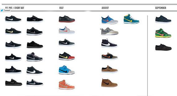 nike shoe models