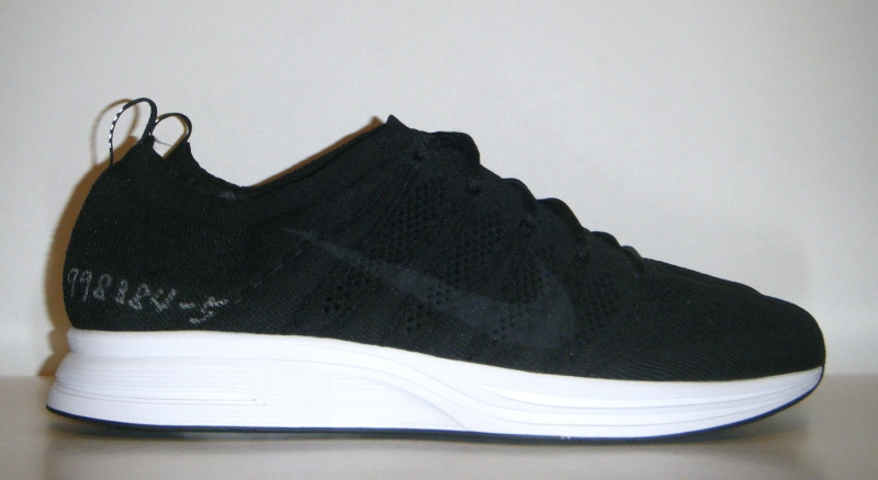 df3133c7cc868 Continue reading for some more angles on the Nike Zoom Flyknit Trainer wear  test sample and then take a look at the price on this black and white  banger ...