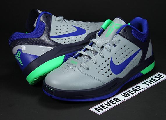 factory authentic c3662 272ba Nike Zoom Kobe Gametime - Grey - Purple - Green   Sample - SneakerNews.com