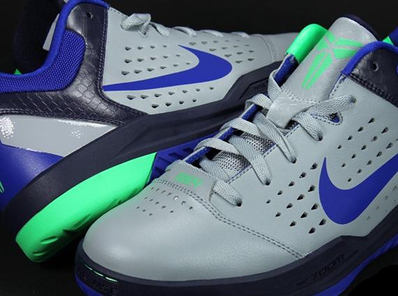 newest c9b42 f35c8 Nike Zoom Kobe Gametime – Grey – Purple – Green   Sample