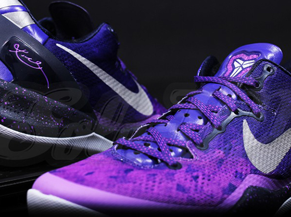 ff64181914ce Nike Kobe 8 - Purple Gradient - White - Black - SneakerNews.com