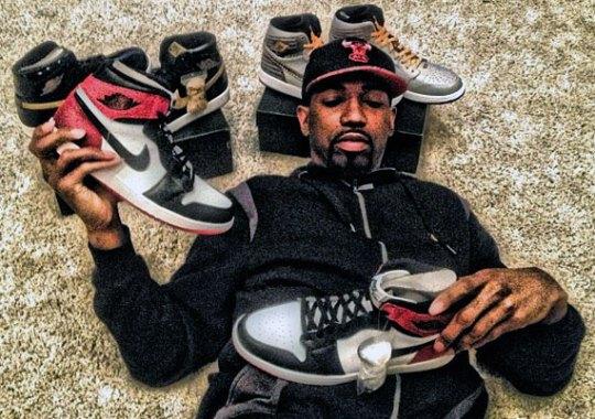 Rip Hamilton Shows Off Latest Air Jordan Pick-Ups