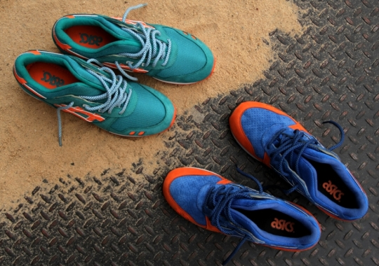 "best sneakers 7f89e 9c1eb Ronnie Fieg x Asics Gel Lyte III ""New York City""   ""Miami Beach"