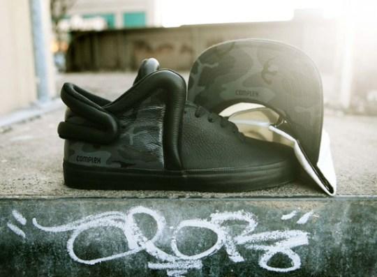 Complex x Supra Falcon Custom by Brush Footwear