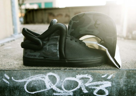 Complex x Supra Falcon Custom by Brush Footwear