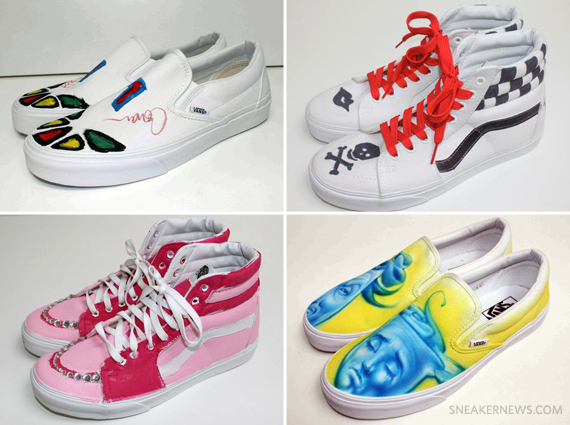 Vans Custom Culture Returns In 2013 With Another Inspiring Collection Of Based Artwork The Top 50 High Schools Competing For Price A