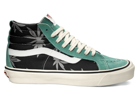 Vans Vault Sk8-Hi LX - OG Palm Leaf Pack - SneakerNews.com 0a0319792