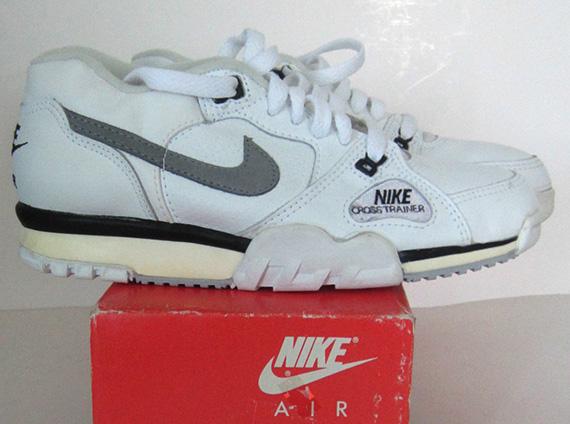 Nike Air Cross Trainer Low Vintage Pair On Ebay Sneakernews Com