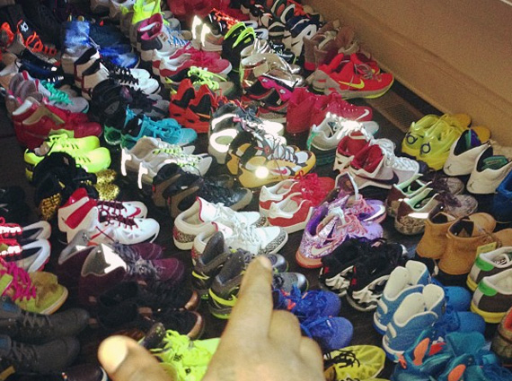 Wale Shoe Collection 2012