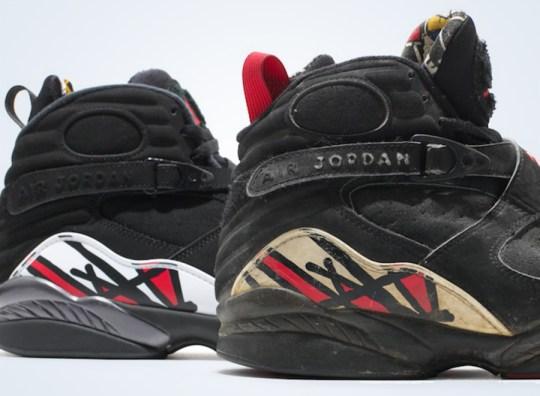"""Air Jordan VIII """"Playoffs"""" – 1993 Original vs. 2013 Retro Comparison"""