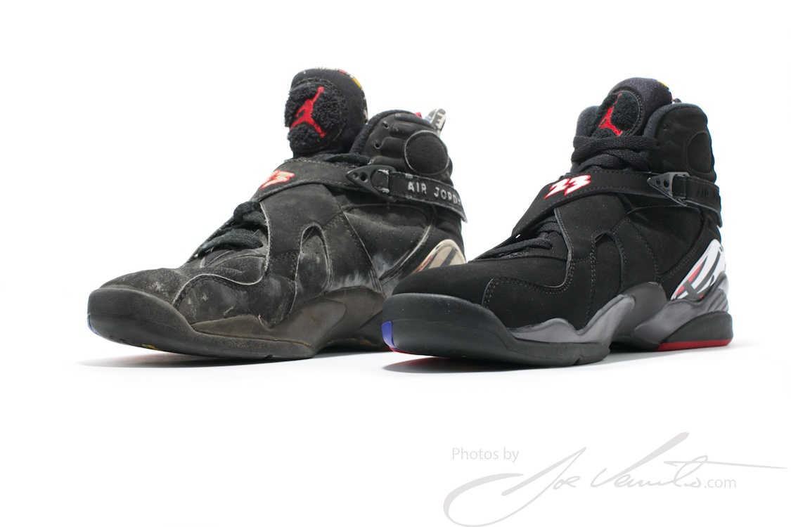 "Playoff 8s 2013 On Feet Air Jordan VIII ""..."
