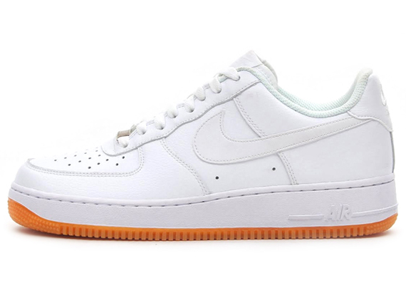 nike air force 1 gum sole