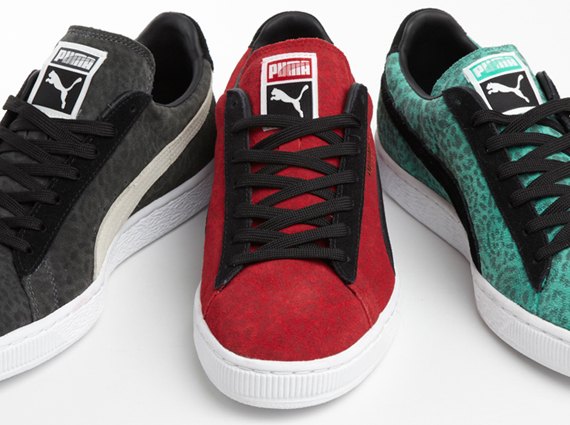 Puma Suede Animal Pack Sneakers