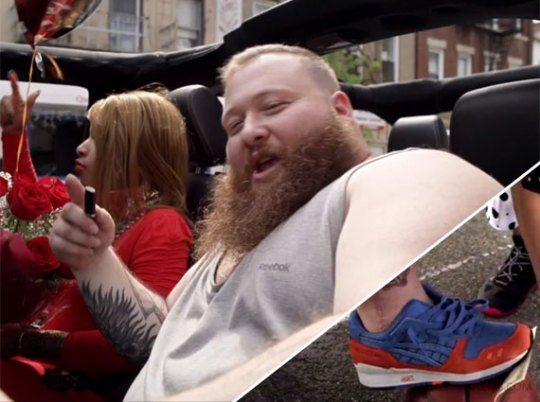 "Action Bronson in Asics Gel Lyte III ECP in ""Strictly 4 My Jeeps"" Music Video"