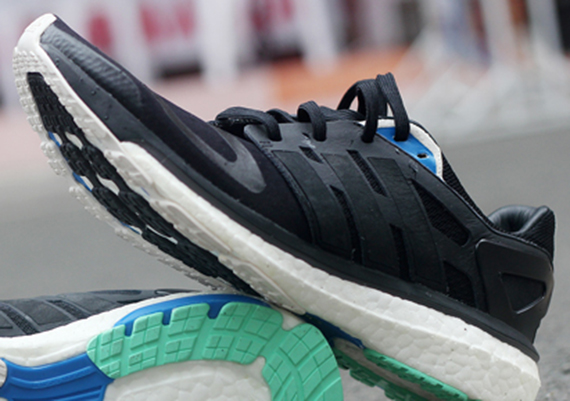 adidas energy boost black mint