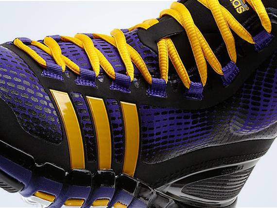 """cheaper 36de8 2dfe9 ... SneakerNews.com Adidas CrazyQuick Mens Basketball Shoes adidas  Crazyquick """"Lakers"""" ..."""