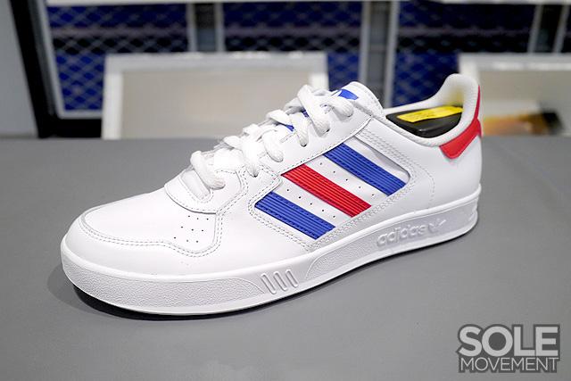 adidas originals red white blue
