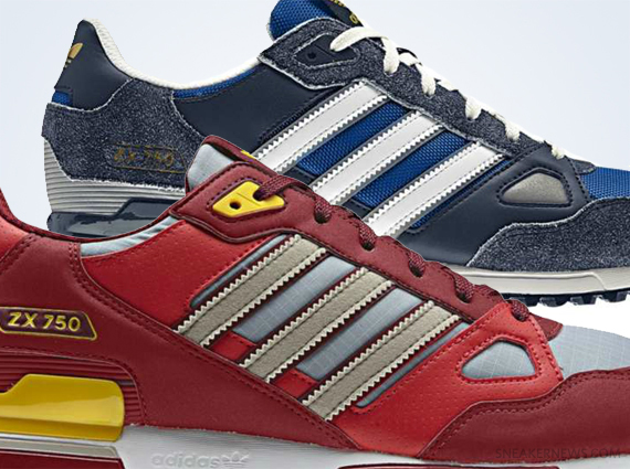 adidas ZX 750 - May 2013 Colorways