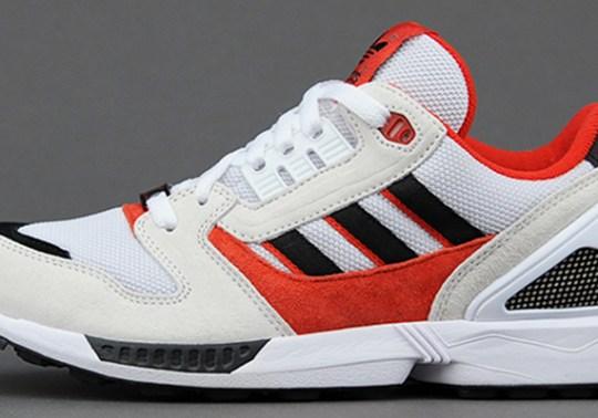 adidas Originals ZX 8000 – White – Red – Black