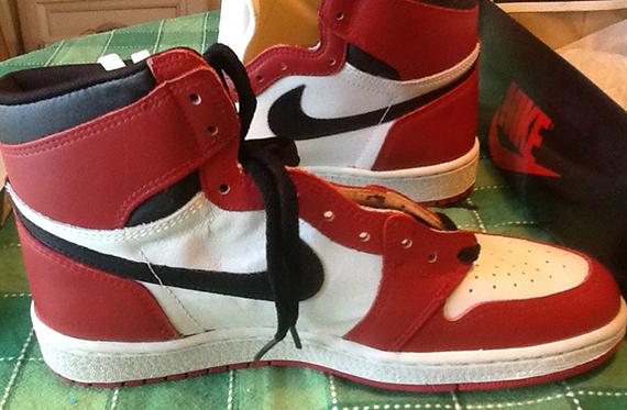 Air Jordan 1 - Deadstock OG Pair on eBay - SneakerNews com