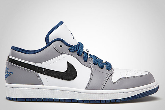 bb7456aa61d786 Air Jordan 1 Low White True Blue-Cement Grey-Black 553558-103 07 2013