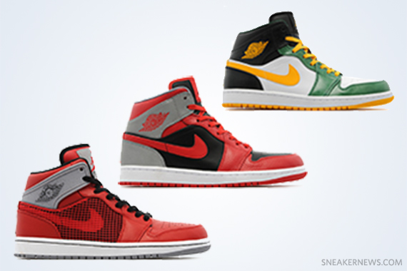 Tenis Nike Air Jordan 1 Mi Rétro 1