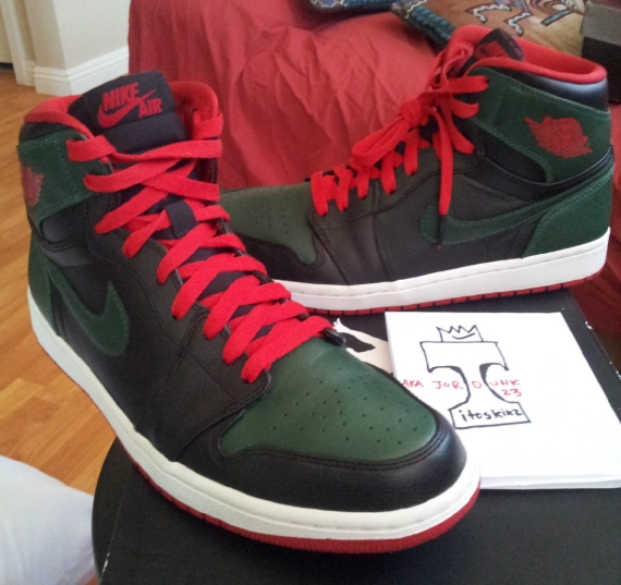 "Continue reading to see this alternate version of the Air Jordan 1 Retro  ""Gucci"" from a seller who has had some strong samples as of late bbc85642d"
