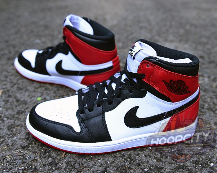 Air Jordan Retro 1 Og Hauts Orteils Noirs De Fonctionnement