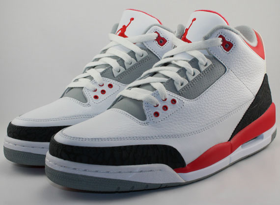 "separation shoes a5809 d40be Air Jordan III ""Fire Red"" – Release Date"