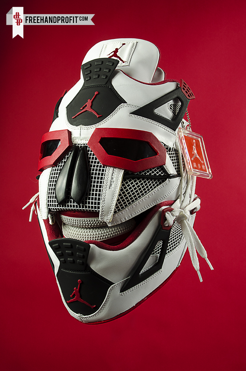 air jordan iv quotfire redquot mask by freehand profit